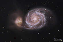 Messier 51 - Whirlpoolgalaxie